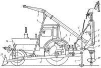Рис. 73. Бурильно-крановая машина БМ-205: