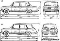 автомобилей ВАЗ-2104,-2105