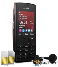 ... музыкальный телефон Nokia X2-02 с Dual SIM