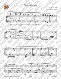 Piano Sheet Music