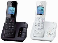 Новая линейка беспроводных DECT-телефонов от Panasonic</p> <p>Компания Panasonic представляет новую линейку беспроводных телефонов серии DECT - KX-TGH210RU, KX-TGH212RU, KX-TGH220RU и KX-TGH222RU, сочетающую стильный и элегантный дизайн и расширенный функционал. Новинки - беспроводные телефоны , отличаются компактным дизайном корпуса и приятной подсветкой клавиатуры и экрана, что делает их комфортными для использования.Новинки обладают опцией снижения уровня фонового шума, установки ночного режима который позволяет отключить звонок на определённый промежуток времени. Еще одна возможность новой серии – осуществление поиска любого предмета с помощью трубки и брелока-искателя, который можно приобрести дополнительно. Во время поиска устройства издают звуковой сигнал, а на дисплее телефона отображается расстояние до искомого предмета.<br /> Среди других полезных опций – резервное питание, обеспечивающее временную работу базового блока за счет аккумуляторов трубки, эко режим и радионяня. Кроме того, версии KX-TGH220RU и KX-TGH222RU оборудованы цифровым автоответчиком, который обеспечивает запись длительностью до 40 минут.Все модели серии имеют встроенную записную книгу вместимостью до 200 номеров, набор полифонических мелодий для звонка и возможность подключения до 6 трубок. Время работы телефона в режиме разговоров до 14 часов, а в режиме ожидания до 250 часов.<br /> Модели KX-TGH210RU и KX-TGH220RU выполнены в черном и белом цветах, а телефоны с двумя трубками в комплекте KX-TGH212RU и KX-TGH222RU представлены только в классическом черном цвете.<br /> Новинки поступят в продажу в начале июня 2014года по следующим рекомендованным розничным ценам:<br /> KX-TGH210RU – 2590 р.<br /> KX-TGH212RU – 3690 р.<br /> KX-TGH220RU – 3090 р.<br /> KX-TGH222RU – 3990 р.</p> <p>http://www.digimedia.ru/latest-news/12380