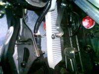 Установка салонного фильтра Nissan Qashqai
