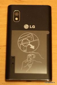 инструкция lg optimus l5