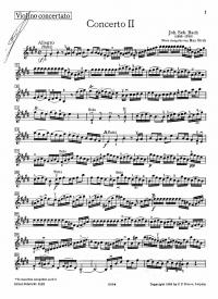 ... : Концерт E-dur для скрипки с оркестром