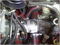 Подключение 6-дырочного термостата