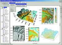 Surfer 8 - 3d contour maps and