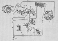 ... ваз 2106 схема электрооборудования ваз