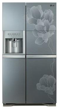 Side-by-Side Холодильник LG GR-P247 PGMK