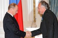 Владимир Путин и Василий Анисимов ...