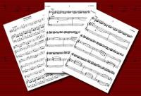 ламбада ноты мелодии