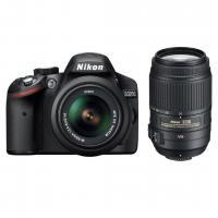 ... фотоаппарат Nikon D3200 KIT 18-55 / 55-300 VR black