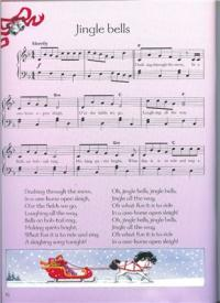 ... for Christmas. Детские ноты для фортепиано PDF