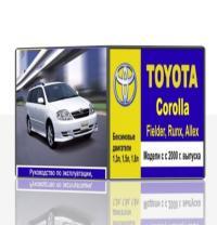 Toyota Corolla, Fielder, Runx,