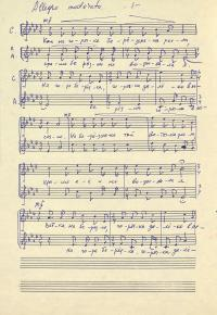Свод нотных рукописей композиторов и ...