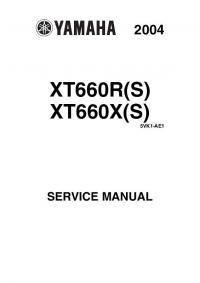 Скачать инструкцию YAMAHA XT660R