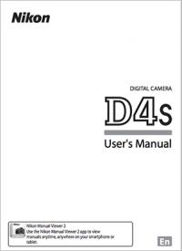 Nikon-D4s-user-manual