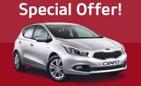 Kia New Car Special Offer!</p> <p>#Kia #ceed VR7 1.4 98bhp Manual Petrol - Special Edition<br /> Save £1,000 Our Price £13,995</p> <p>Includes Kia 3 Year Servicing</p> <p>http://www.johngrose.co.uk/kia/new-car-offers/allnewkiaceed/1764/1.4%20VR7%205dr/?section=new-car-offers/