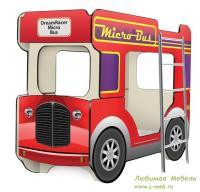 """х ярусная кровать-автобус """"МикроБас ..."""