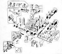 Weber DCOE Parts Diagram