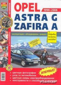 Автомобили Opel Astra G, Zafira A (1998-2006). Эксплуатация, обслуживание, ремонт</p> <p>Автомобили Opel Astra G, Zafira A (1998-2006). Эксплуатация, обслуживание, ремонт - Справочно-информационное пособие Руководство по ремонту Opel Astra G / Zafira A, а также руководство по эксплуатации и техническому обслуживанию, устройство автомобилей Opel Astra G / Zafira A 1998-2006 гг. выпуска, оборудованных бензиновыми двигателями 1,4 DOHC, 1,6 SOHC, 1,6 DOHC, 1,8 DOHC.</p> <p>http://www.wsturbo.net/books/car/14160-avtomobili-opel-astra-g-zafira-a-1998-2006-ekspluataciya-obsluzhivanie-remont.html