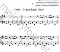 Ноты известных песен на фортепьяно ...