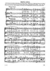 Свадебный хор: Для голосов и