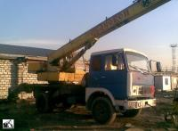 Автокран КС-3577-2 на шасси МАЗ-5337. Фотография из архива автора