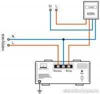 Электрическая схема подключения panasonik ...