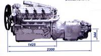 Силовой агрегат ЯМЗ-7511