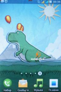 ... Fly E154: стилизованный под Android — тест Fly