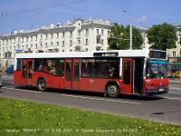 На снимках - автобусы МАЗ-103,