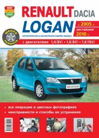 DACIA LOGAN бензин с 2005 г.в., + рестайлинг 2010 ...