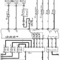 ... -схема проводки Тойота Прадо (Toyota Prado