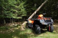 CF Moto ATV 4X4 prissänkt Orange Allroad 500 -14