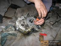ремонт коробки передач мопеда дельта