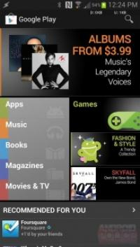 Android App Store phone