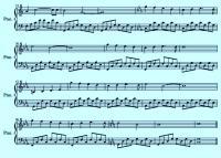 Классные ноты для фортепиано