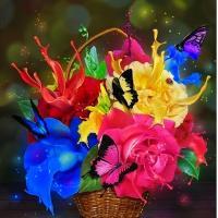 """Всего семь цветов спектра рождают миллионы цветовых оттенков, разукрашивают наш мир.Всего семь нот породили тысячи мелодий, которые делают нашу жизнь прекраснее, и всего семь букв, из которых сложены три слова: """"Я тебя люблю"""", - дарят счастье."""