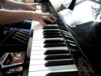 Лунная соната (Бетховен) на пианино 4:45