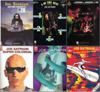 Joe Satriani — Ноты / tabs — 16 брошюр (альбомы ...