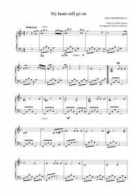 Ноты титаник для фортепиано - Титаник ...