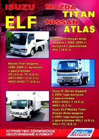 Книга Isuzu ELF / Mazda Titan