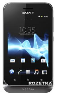 Мобильный телефон Sony Xperia tipo ST21i2 Black