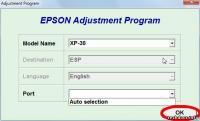 Epson XP102 Adjustment Program