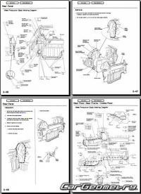 Геометрические размеры Honda Insight (ZE1) 2000 ...