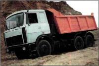 Самосвал МАЗ 5516