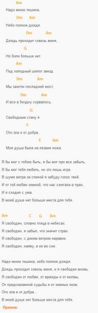 Я свободен, Ария (Кипелов),