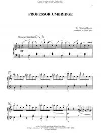 Harry Potter Theme Song Sheet Music