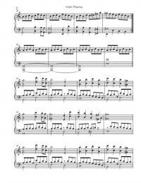 Ноты для фортепиано рыцарь