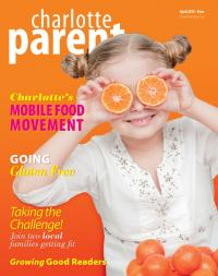 Charlotte Parent April 2013 Cover. Our food issue. Cover design by ...